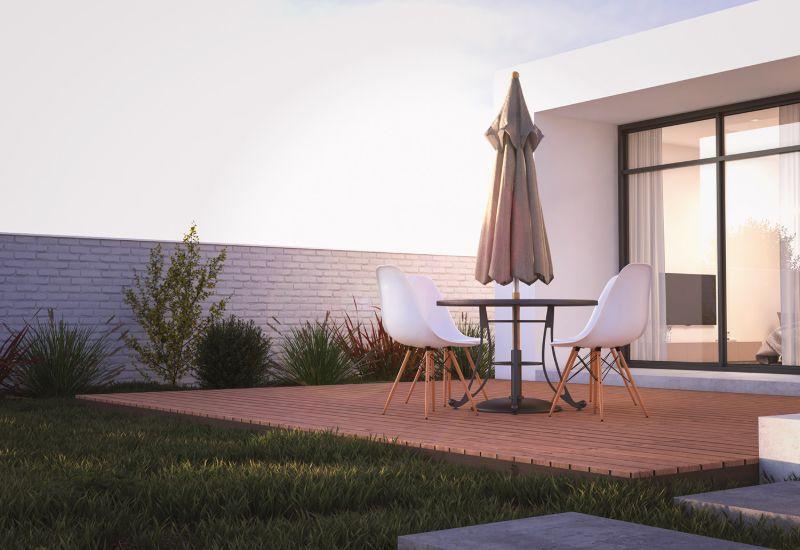 , Modern Concrete House